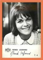 Renée LEGRAND - Autographe ( Photo ORTF )  // Format CPM - Autographes