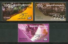 1998 Indonesia Minerali Minerals Gemme Gems Set MNH** Fo173 - Minerals