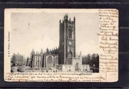 35748   Regno  Unito,   Manchester -  Cathedral,  VGSB  1902 - Manchester