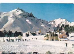21802 -France  L'auvergne En Hiver, Mont Doré, Le Sancy -2407 Cap Iris, Ski Cabine