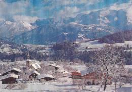 21810 Cordon, Village Et Chaine Mont Blanc -Cordon H12 Serge Deschamps - France