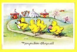 * Fantaisie - Fantasie - Fantasy * (53910) Paques, Pasen, Easter, Poussin, Kuiken, Chick, Musique, Music, Kermis, Foire - Pâques