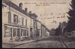 77220 GRETZ Rue De Paris Et Hotel Tourne-bride - Hotel's & Restaurants