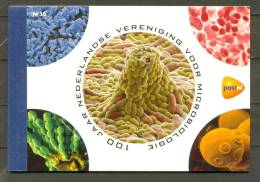 Carnet De Prestige.Centenaire De La Société Néerlandaise De Microbiologie. - Carnets Et Roulettes