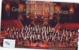 TELECARTE JAPON * CONCERTGEBOUW * CHEF D ' ORCHESTRA (96) Conductor * DIRECTOR MUSIC * PHONECARD JAPAN * CONCERT - Muziek