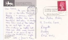 1979 SLOGAN - CUMBRIA CANCER SCANNER APPEAL - Postmark Collection