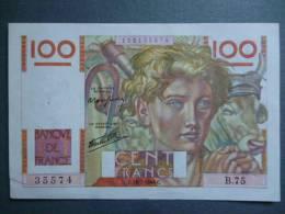 """BILLET DE 100 FRANCS """"Jeune Paysan""""  18.7.1946 C - 1871-1952 Anciens Francs Circulés Au XXème"""