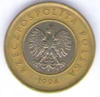 POLONIA 2 ZLOTE  1994 BIMETALLICA - Polonia