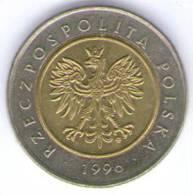 POLONIA 5 ZLOTY 1996 BIMETALLICA - Polonia