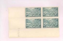 ANDORRE FRANCAIS - Y&T N°112 -  Coin Daté  4 TP **  Du 19/12/1944 - Andorre Français