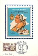 Fev13 37 : Carte Maximum  -  Enclave Des Papes  -  Portrait De Jean XXII  -  Eglise De Valréas - 1960-69