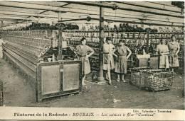 """Filatures De La Redoute -- Roubaix-- Les Métiers à Filer """"Continus"""" - Industrie"""