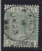 Grande Bretagne, Rabat Oblitération à L'étranger, Used Broad - Gibraltar