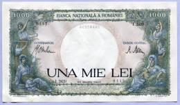 Bank Note 1000 Lei UNA MIE LEI 23 Martie 1943 UNC  (A011) - Romania