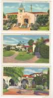 3 Hotel Agua Caliente Postcards, Mexico 30-40s - Mexique