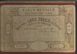 JEU DE 54 CARTES    SA   PUBLICITE BANQUE VARIN BERNIER - 54 Cartes