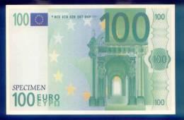 CARTE POSTALE  /  SPECIMEN BILLET DE 100  EURO /  02 C827 - Banken