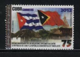 Cuba MNH 2012 Relations With Timor - Cuba