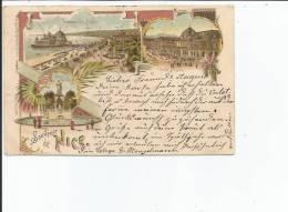 06 NICE SOUVENIR LITHO 1898 - Nice