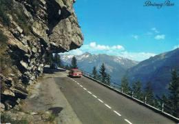 Brünig-Pass Gegen MEIRINGEN - 2 Autos Sur La Route, Cox VW Et Ford - TBE, Carte Neuve, 2 Scans - BE Berne