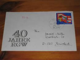 FDC DDR Ersttagsbrief Deutschland Berlin 1989 40 Jahre REG - FDC: Covers