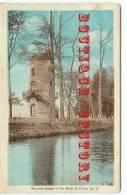 CHATEAU D'EAU - Réservoir Citerne à Vic Sur Aisne - Dos Scanné - Châteaux D'eau & éoliennes
