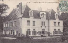 Luzillé 37 - Château De Beauchêne - Editeur Guérault - Oblitération Luzillé 1907 - France