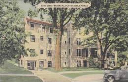 Kansas Fort Scott Burk Street Hospital