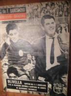 FC BARCELONA Boletin Oficiel (bulletin Officiel FC Barcelone) 25-1964 ESPANA CAM - Revues & Journaux