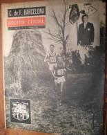 FC BARCELONA Boletin Oficiel (bulletin Officiel FC Barcelone) 23-1964 CROSS - Revues & Journaux