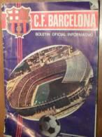 FC BARCELONA Boletin Oficiel (bulletin Officiel FC Barcelone) 1-1970 NOËL - Revues & Journaux