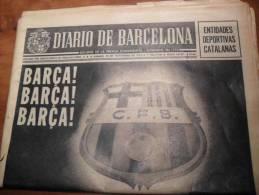 FC BARCELONA: DARIO De BARCELONA Novembre 1972 Spécial Barça Vers 75 Ans - Revues & Journaux