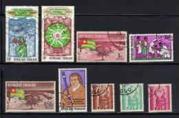 TOGO- Divers Timbres Oblitérés- - Togo (1960-...)