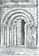 33 Gironde -GUITRES- Eglise Abbatiale Du XII Et XIV E.s. -Porte Polylobée - Illustration J-Teyssendier *PRIX FIXE - France