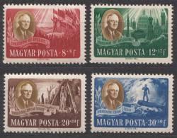 Hungary 1947 Mi#985-988 Mint Hinged - Nuevos