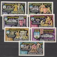 Hungary 1972 Mi#2782-2788 Mint Never Hinged