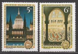 Hungary 1972 Mi#2790-2791 Mint Never Hinged