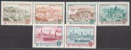 Hungary 1972 Mi#2805-2810 Mint Never Hinged Pairs