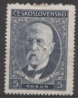 Czechoslovakia 1930 Mi#301 Point Of Some Dirt, Mint Hinged