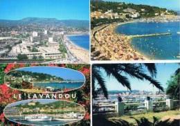 220213F Lot De 40 CPM Couleur Vierges Pour Courrier : Dep.83 (Var) Le Lavandou - Cartes Postales
