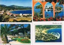 220213I Lot De 22 CPM Couleur Vierges Pour Courrier : Dep.83 (Var) Cavalaire - Cartes Postales