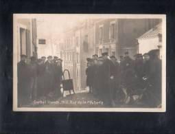 Carte Photo - Corbeil Inondé - 1910 - Rue De La Pecherie. - Corbeil Essonnes