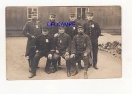 CPA Photo - QUEDLINBURG - Prisonniers Français Du Camp Allemand - 16e , 83e Régiment - Cachet Gepruft - Militaria