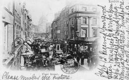 Fleet Street London 1900 Postcard - London