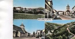 CPSM - 63 - BOURG-LASTIC - église - Route Nationale - 399 - Autres Communes