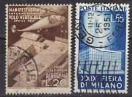 Italie N° 595-596 - 1946-60: Gebraucht