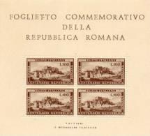 TAPPA BUCHI REPUBBLICA ROMANA FALSA - 1946-60: Ungebraucht