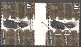 Gran Bretagna 1976 Usato - Mi. 708 Coppia - 1952-.... (Elizabeth II)