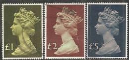 Gran Bretagna 1977 Usato - Mi. 732/34 - 1952-.... (Elizabeth II)