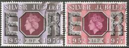 Gran Bretagna 1977 Usato - Mi. 740; 742 - 1952-.... (Elisabetta II)